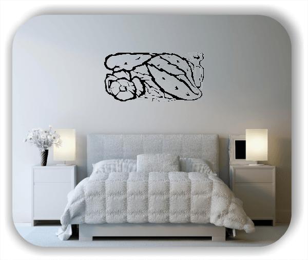 Wandtattoos Ornamente Natur - ab 50 x 25 cm - Motiv 60