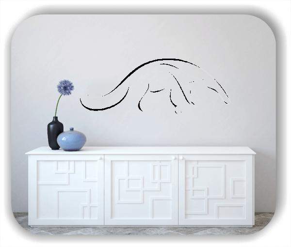 Wandtattoos Tiere - ab 50x19 cm - Nasenbär