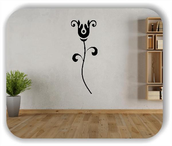 Schnittblumen Wandtattoos - ab 18x50 cm - Motiv 9003