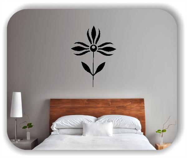 Schnittblumen Wandtattoos - ab 37x50 cm - Motiv 9044