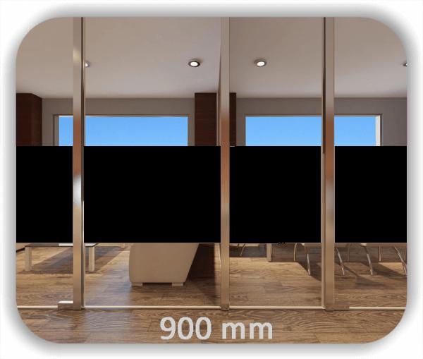 Durchlaufschutz Folie Uni – Streifen - Höhe: 90 cm