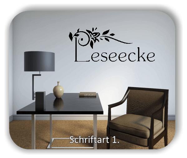Wandtattoos Spruch - Leseecke