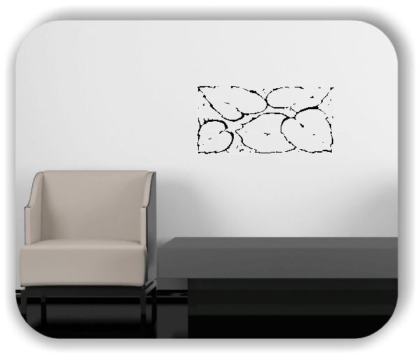 Wandtattoos Ornamente Natur - ab 50 x 25 cm - Motiv 84