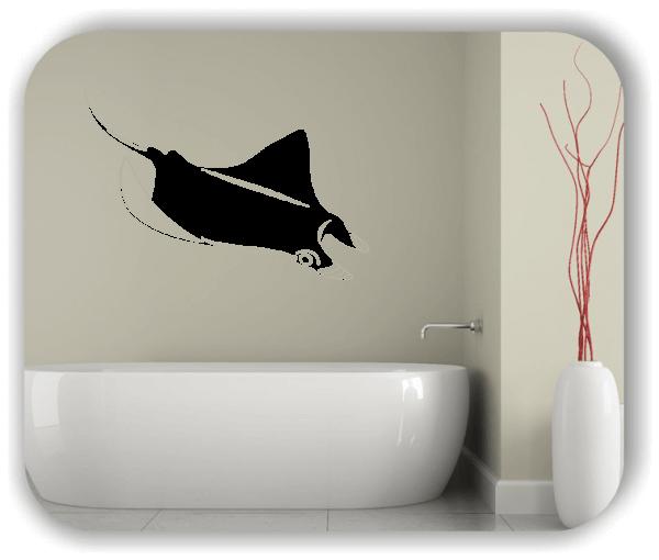 Wandtattoos Tiere - ab 50x34 cm - Rochen