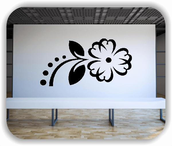 Wandtattoos Blätter & Blumen - Motiv 09