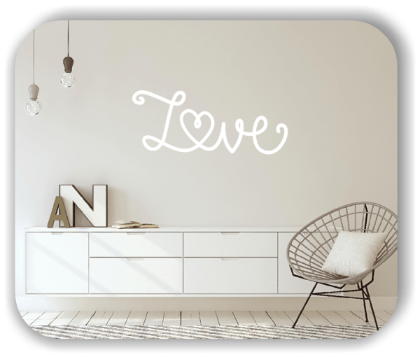 Wandtattoos Liebe - Love