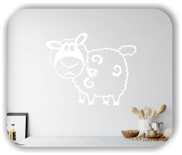 Wandtattoos Tiere - Liebes kleines Schaf