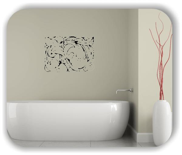 Wandtattoos Ornamente Natur - ab 60 x 43 cm - Motiv 26
