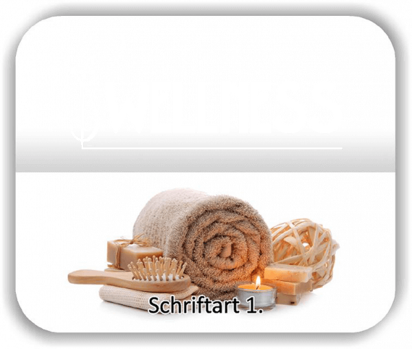 Wandtattoos – Spruch Wellness