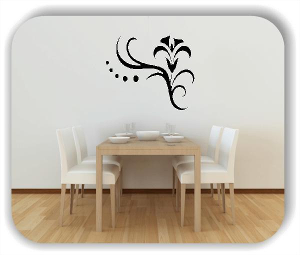Wandtattoos Blätter & Blumen - Motiv 23
