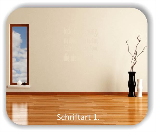 Wandtattoos – Sprüche & Zitate – Jede Begegnung, die deine Seele...