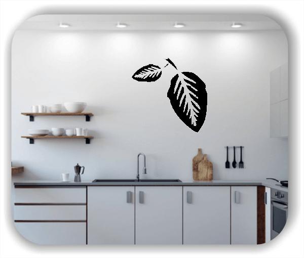 Wandtattoos Blätter - ab 50x50cm - Motiv 8214