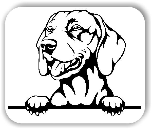 Wandtattoos Tiere - Hunde - Vizsla - ohne Rassename