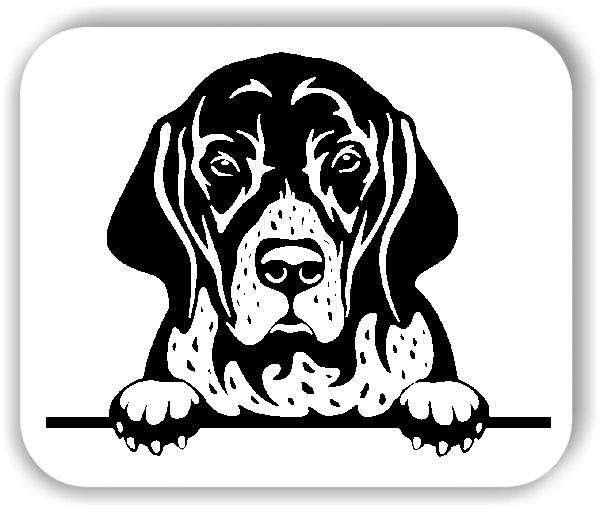 Wandtattoos Tiere - Hunde - English Pointer - ohne Rassename