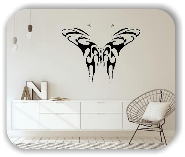 Wandtattoos Tiere - ab 50x40 cm - Schmetterling