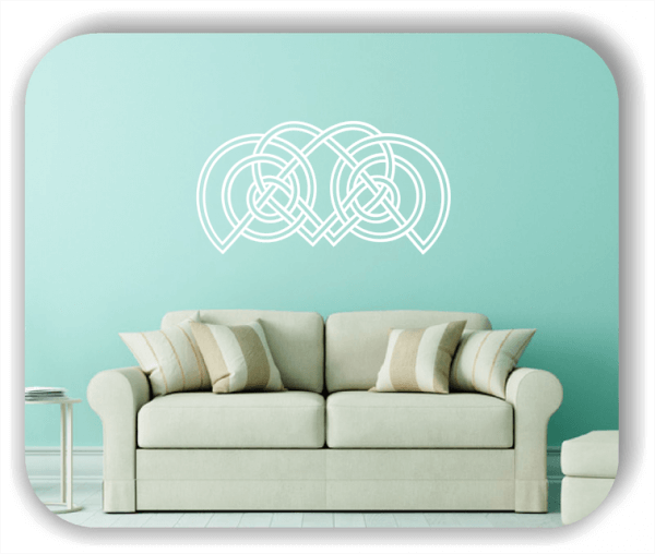 Wandtattoos Keltischer Knoten - Geltic Design - Motiv 26