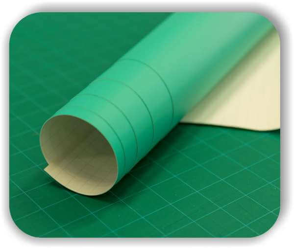 Grüne Sandstrahlfolie - Oracal Oramask 831 – 126 cm Rollenbreite