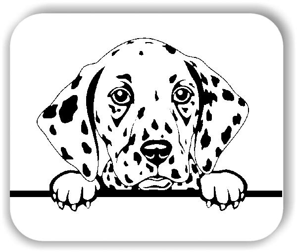 Wandtattoos Tiere - Hunde - Dalmatiner - ohne Rassename