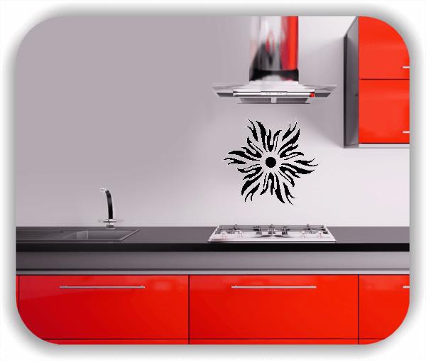Wandtattoos Dingbats Floral - ab 50x50 cm - Motiv 4100