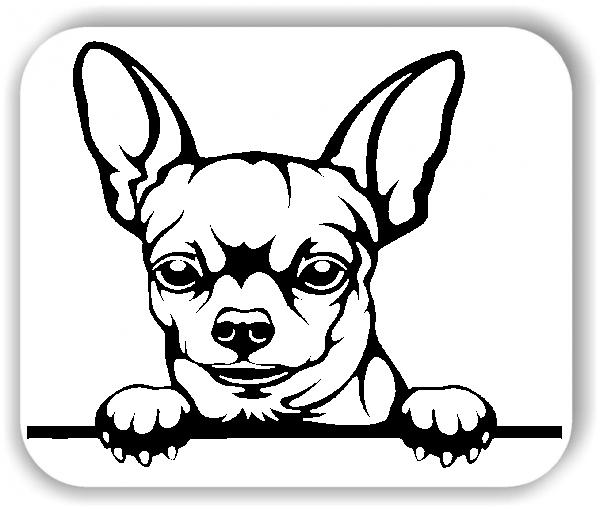 Wandtattoos Tiere - Hunde - Chihuahua Variante 4 - ohne Rassename