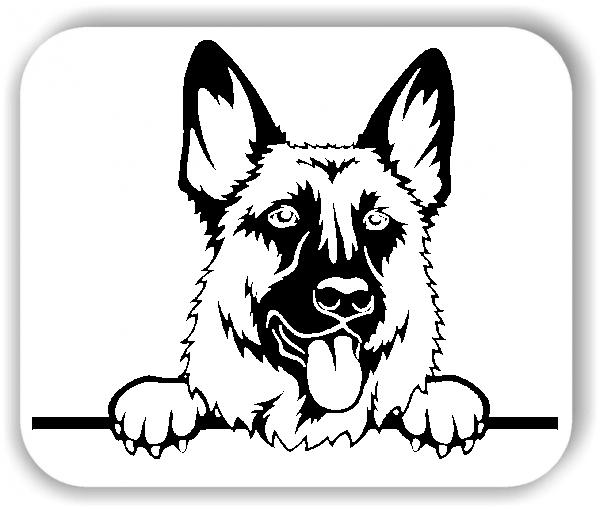 Wandtattoos Tiere - Hunde - Schäferhund - ohne Rassename