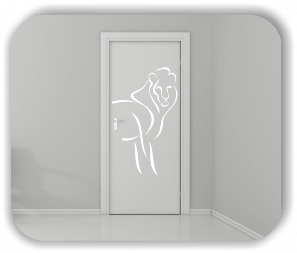 Wandtattoos Tiere - ab 50x80 cm - Löwe