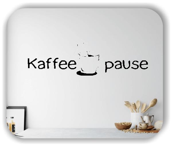 Wandtattoos Spruch Küche - Kaffeepause