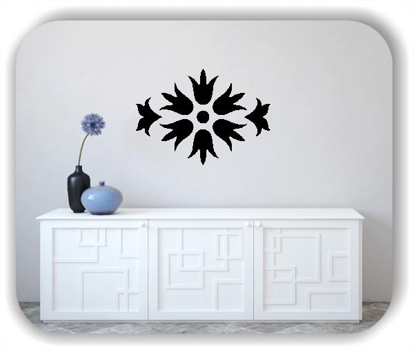 Wandtattoos Dingbats Floral - ab 70x50 cm - Motiv - 4118