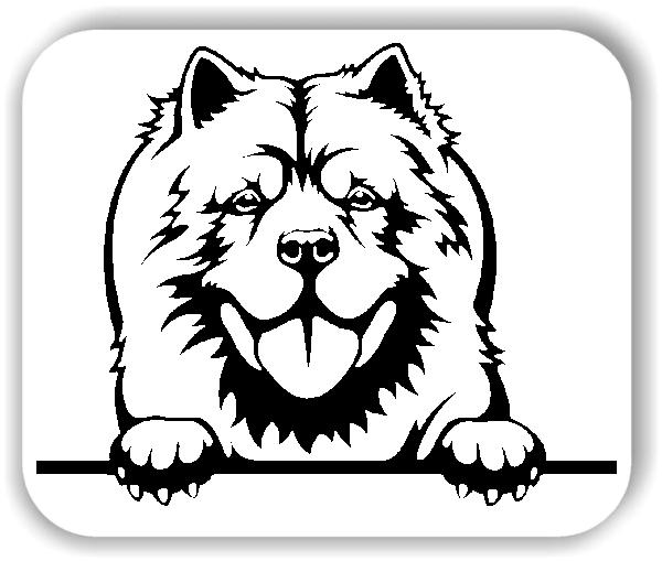 Wandtattoos Tiere - Hunde - Chow Chow - ohne Rassename