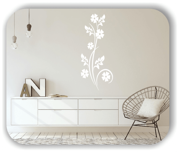 Florale Wandtattoos Japan Motiv - ab 25x60 cm - Motiv 3257