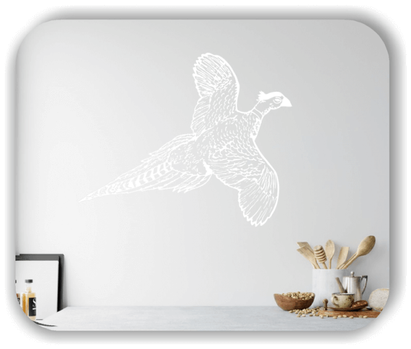 Wandtattoos Tiere - ab 50x40 cm - Fasan