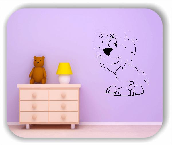 Wandtattoos Tiere - Löwe
