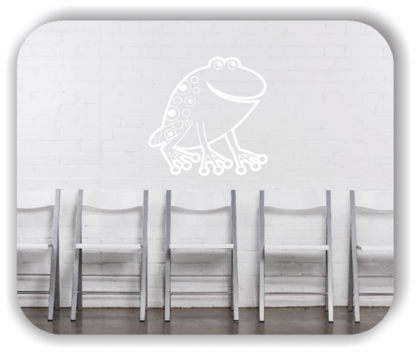 Wandtattoos Tiere - Witziger Frosch