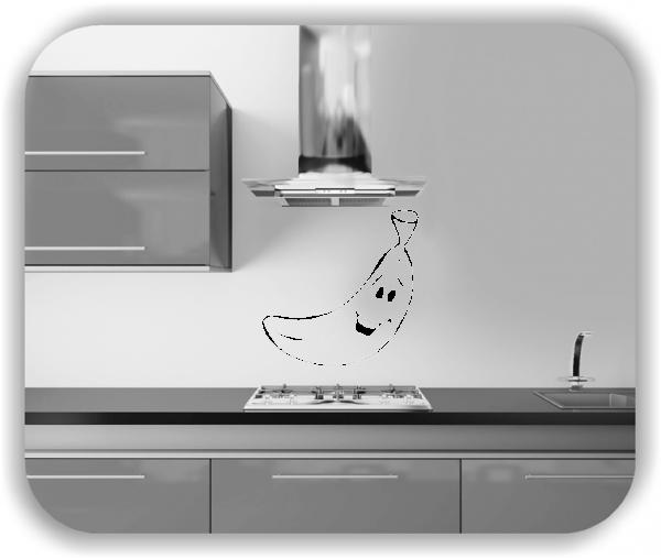 Wandtattoos Spruch Küche - Lustige Banane