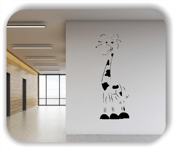 Wandtattoos Tiere - Süße Giraffe