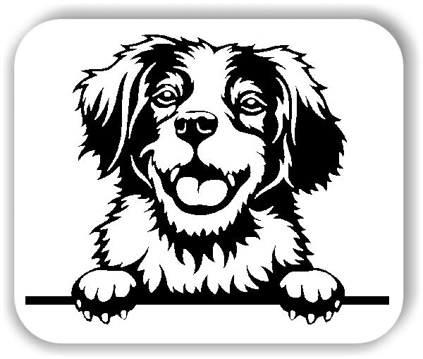 Wandtattoos Tiere - Hunde - Brittany Spaniel - ohne Rassename