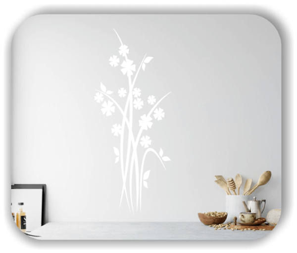 Florale Wandtattoos Japan Motiv - ab 25x60 cm - Motiv 3247