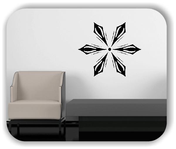 Snowflakes Wandtattoos - Schneeflocke - ab 50x43 cm - Motiv 2580