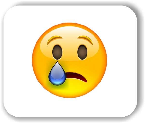 Strichgesicht - Emoticon - Weinendes Gesicht