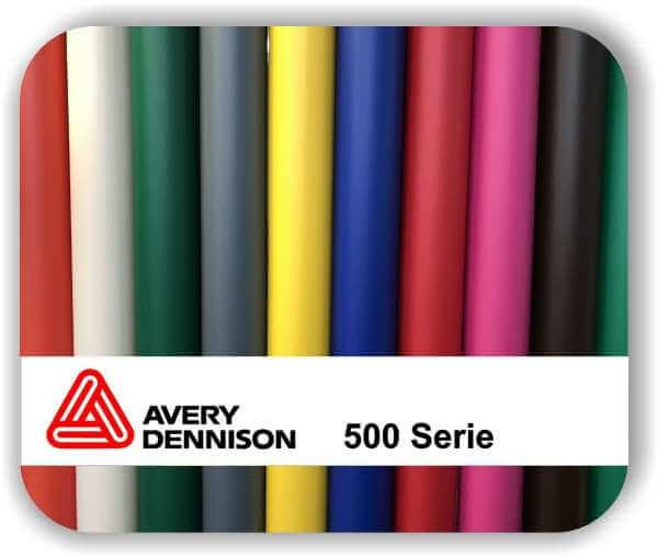 Selbstklebende Klebefolie Avery 500 - Matt - 123 cm Rollenbreite