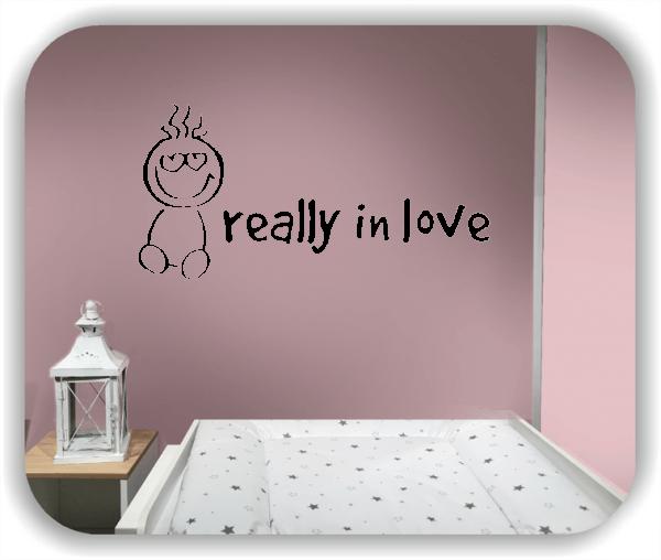 Wandtattoos Schlafzimmer - really in love