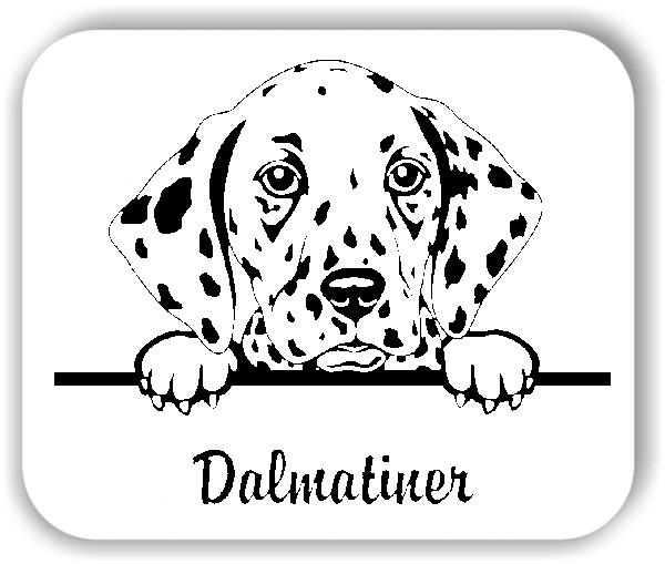 Wandtattoos Tiere - Hunde - Dalmatiner