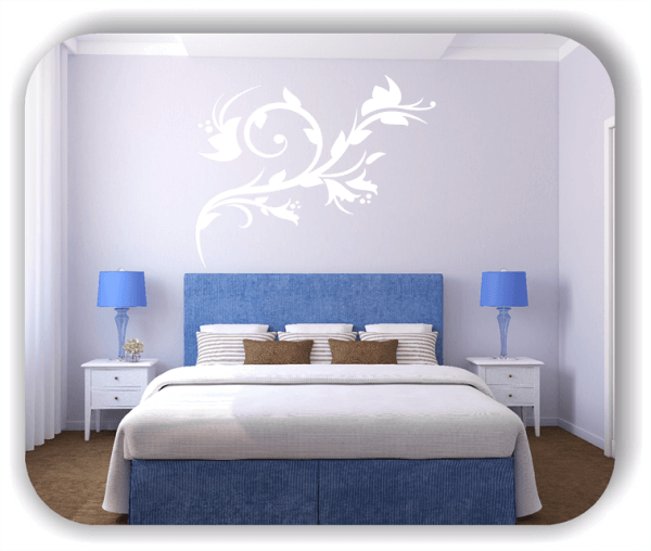 Ornamente China Floral - Wandtattoo - ab 50x40 cm - Motiv 3140