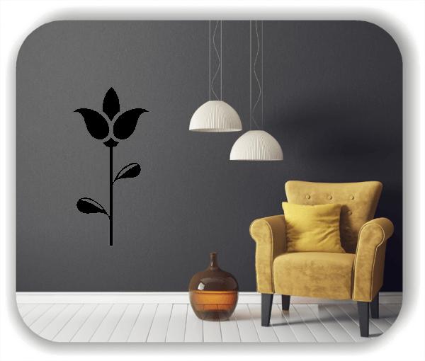 Schnittblumen Wandtattoos - ab 25x50 cm - Motiv 9019