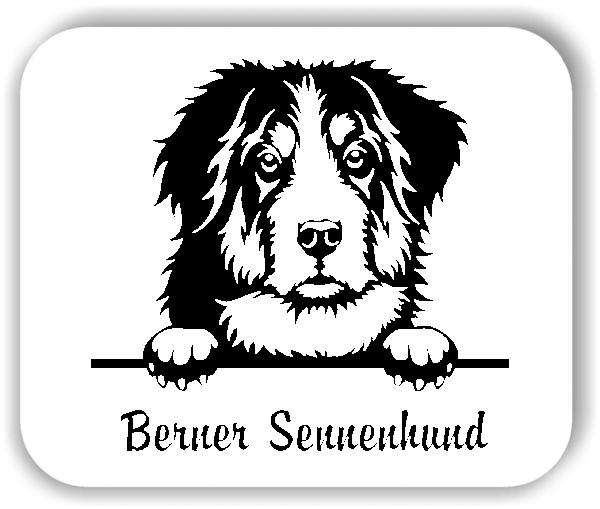 Wandtattoos Tiere - Hunde - Berner Sennenhund