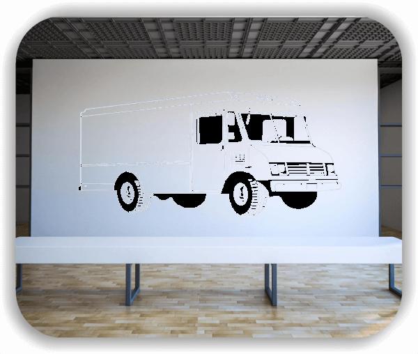 Wandtattoos Fahrzeuge - ab 50x34 cm - Wohnmobil