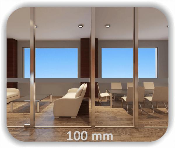 Durchlaufschutz Folie Uni – Streifen - Höhe: 10 cm