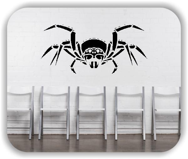 Wandtattoos Tiere - ab 50x34 cm - Spinne