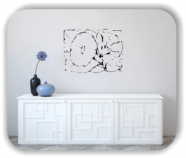 Wandtattoos Ornamente Natur - ab 60 x 43 cm - Motiv 15