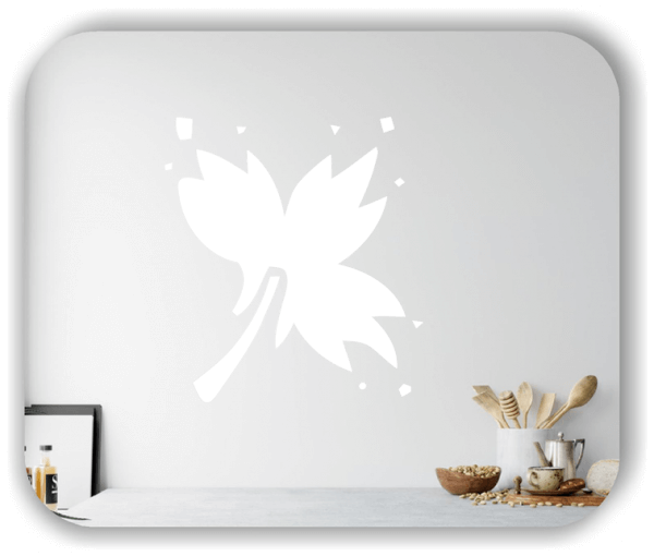 Wandtattoos Blätter - ab 50x55cm - Motiv 8254